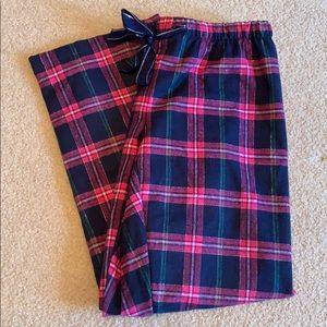 Magenta Navy Pajama Pants NWT natural reflections